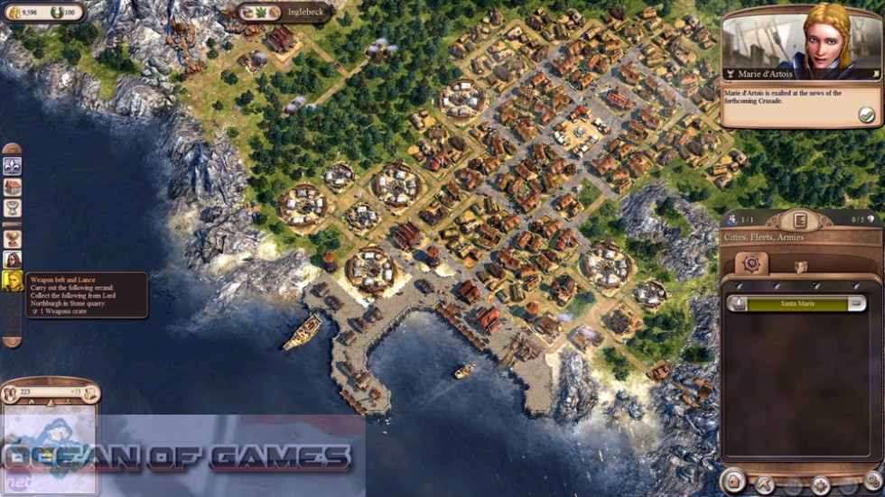 Anno 1404 Dawn Of Discovery Setup Free Download