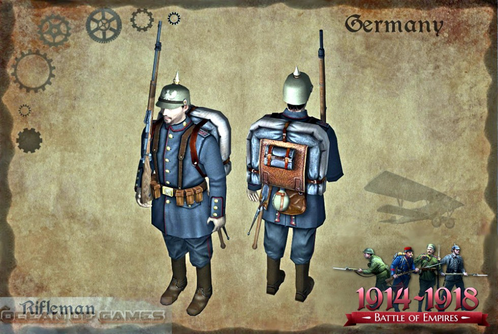 Free Download Battle of Empires 1914-1918 PC Game