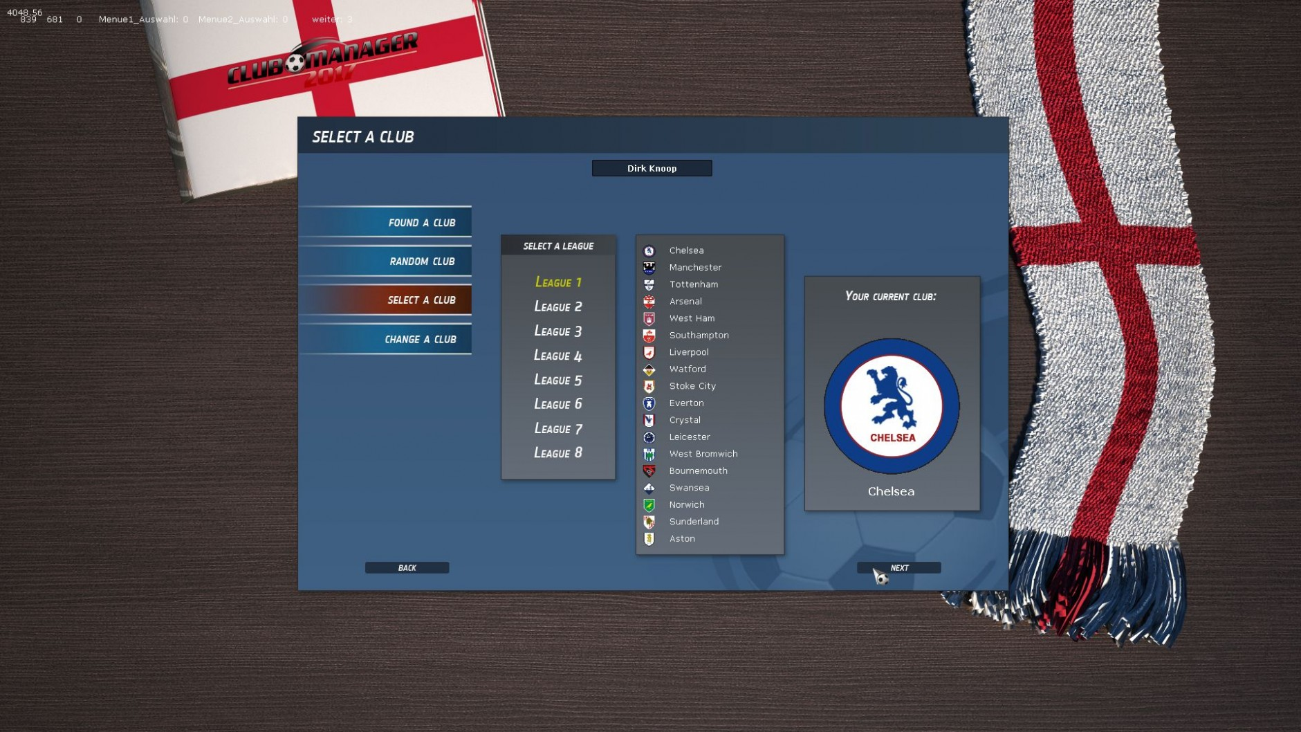 Club Manager 2017 Features
