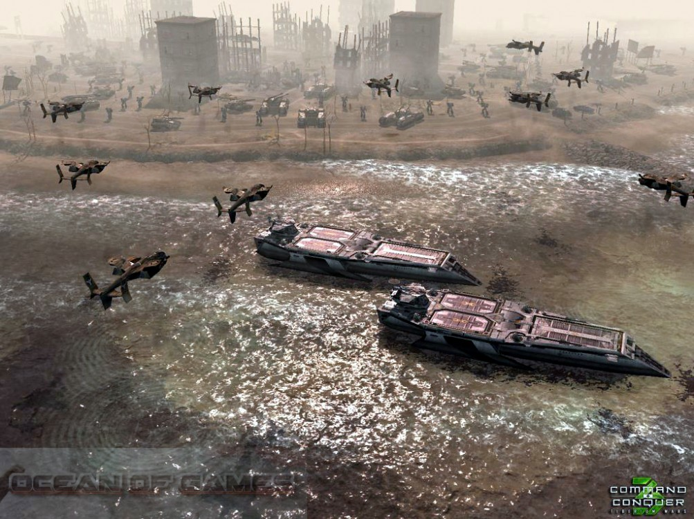Command and Conquer 3 Tiberium Wars Features