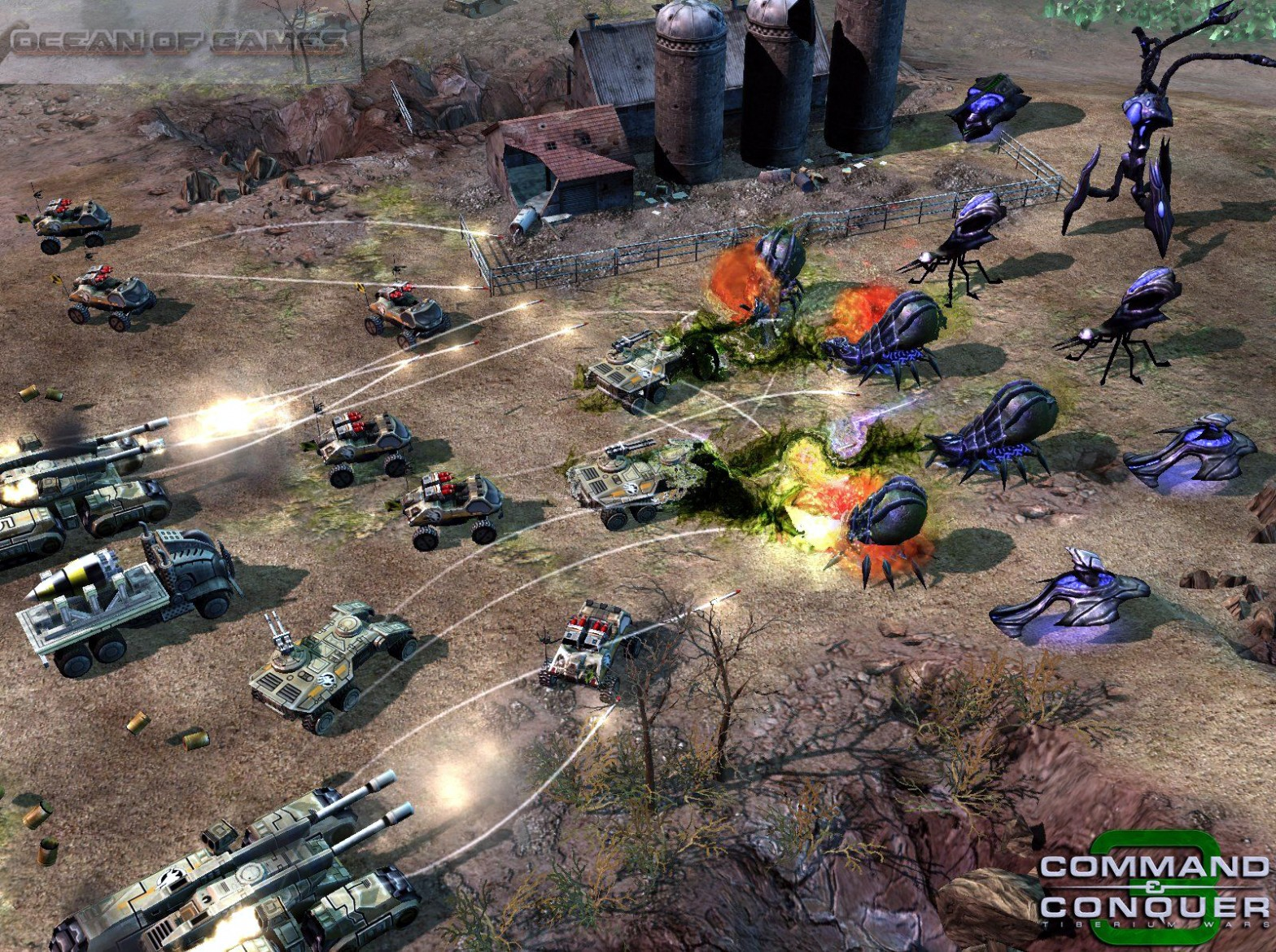 Command and Conquer 3 Tiberium Wars Setup Download For free
