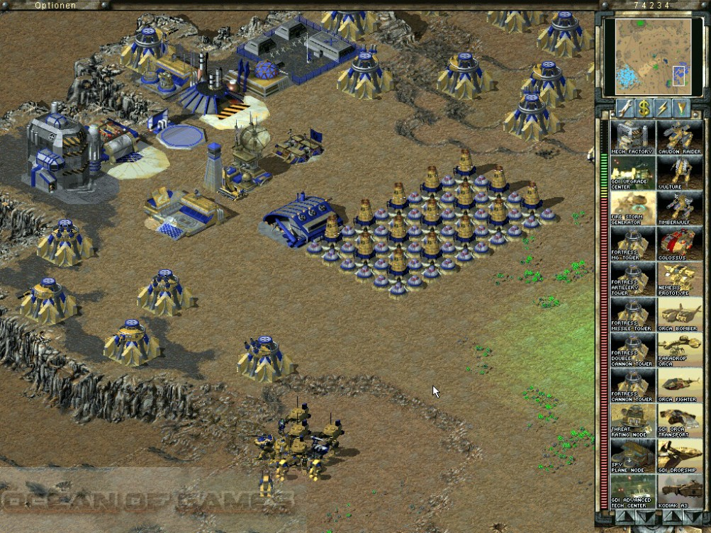 Command and Conquer Tiberian Sun Setup Free Download