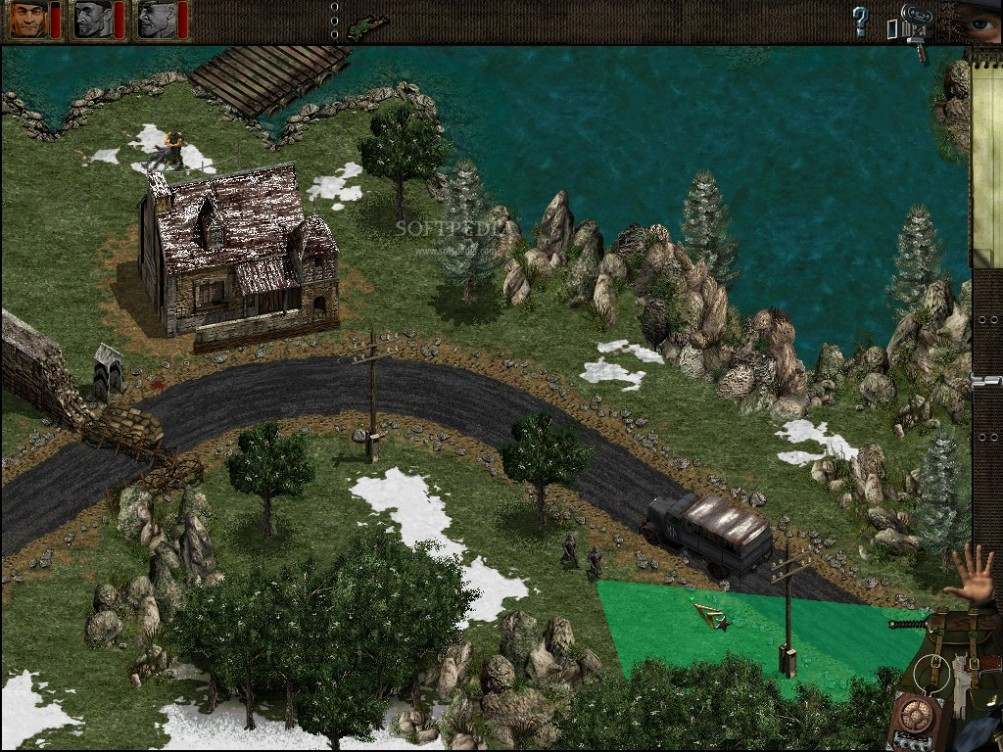 Commando Behind Enemy Lines PC Version Game