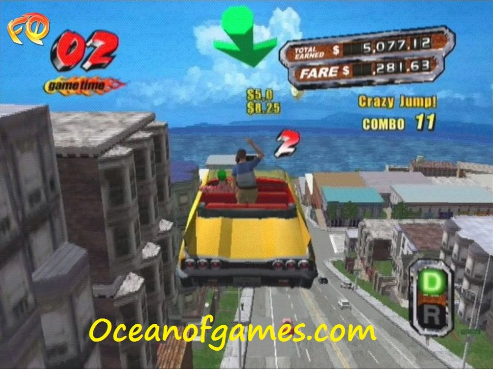 Crazy Taxi 3 Free PC Game Download