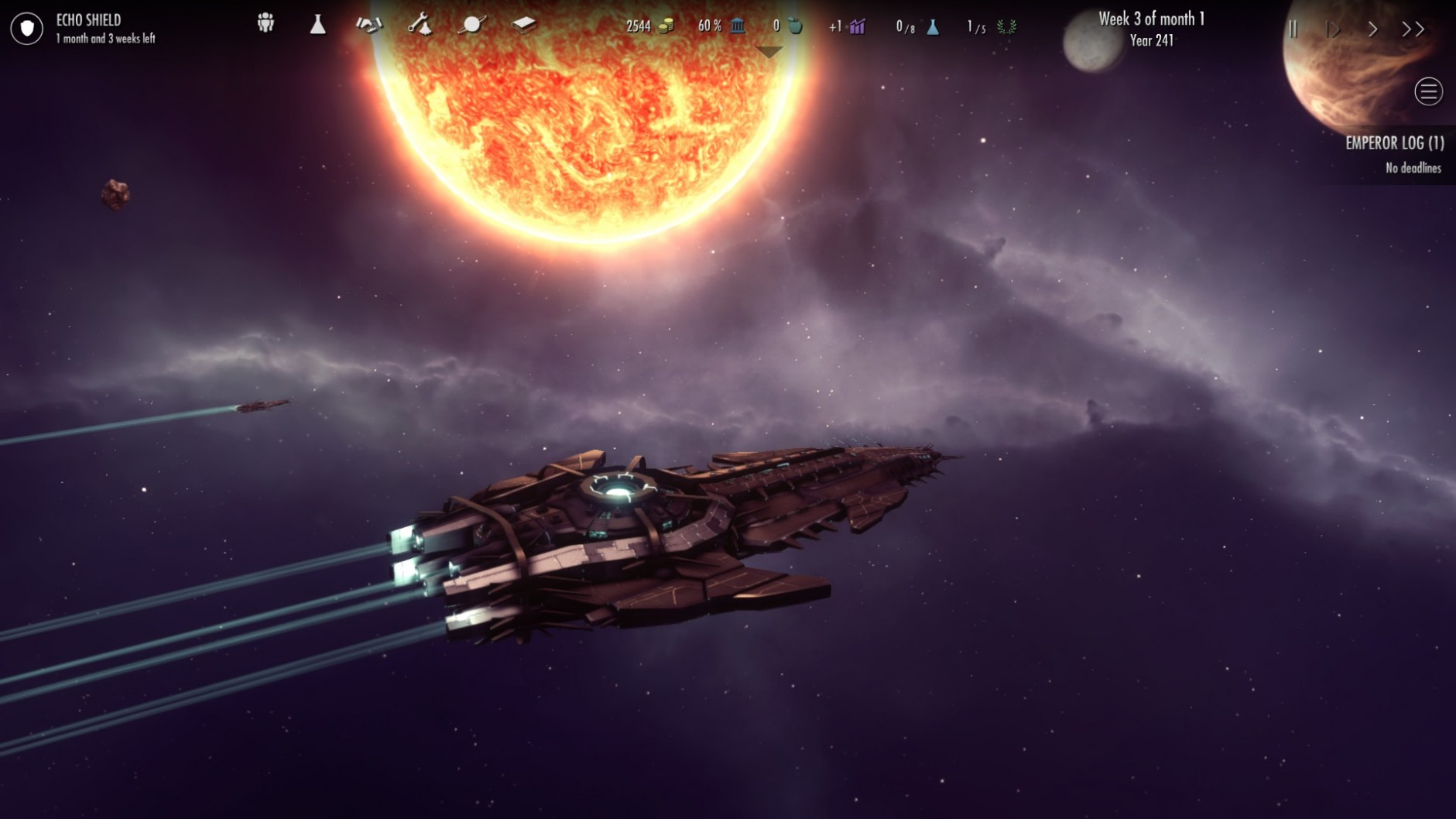 Dawn of Andromeda Features
