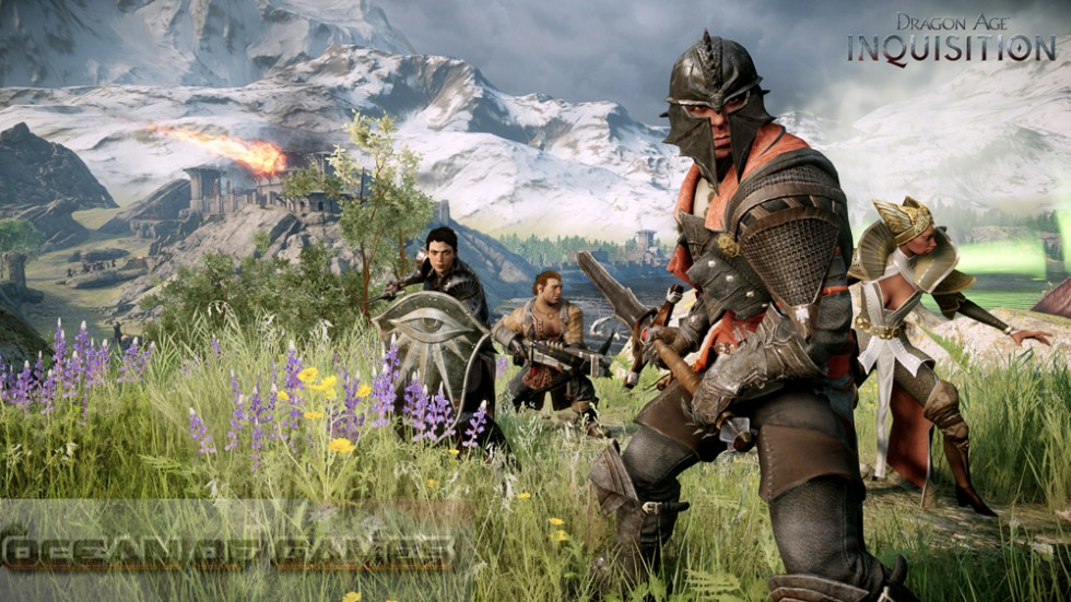 Dragon Age Inquisition Features