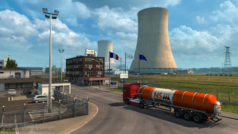 Euro Truck Simulator 2 Vive la France Features