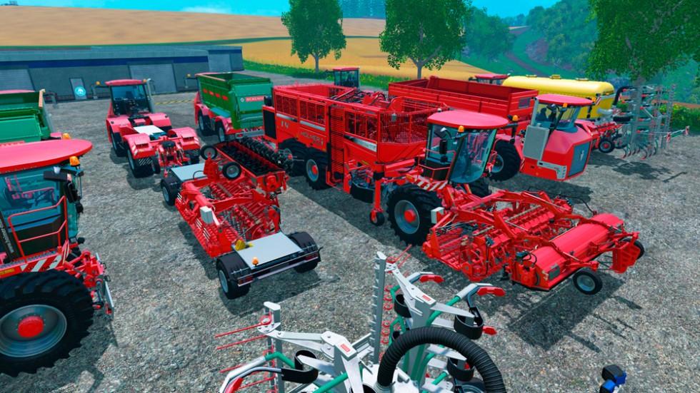 Farming Simulator 15 Holmer Features