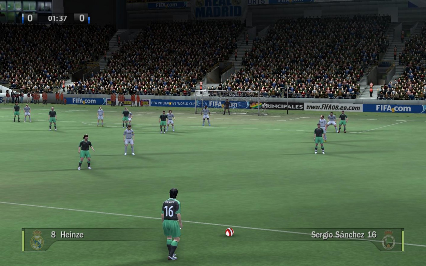 FIFA 08 Game
