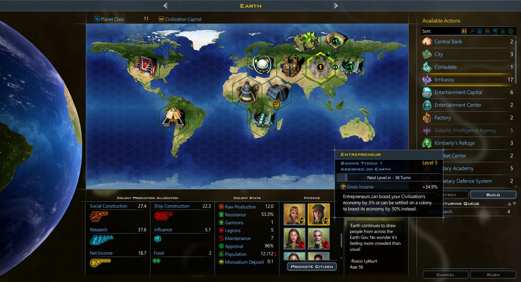 Galactic Civilizations III Crusade Features