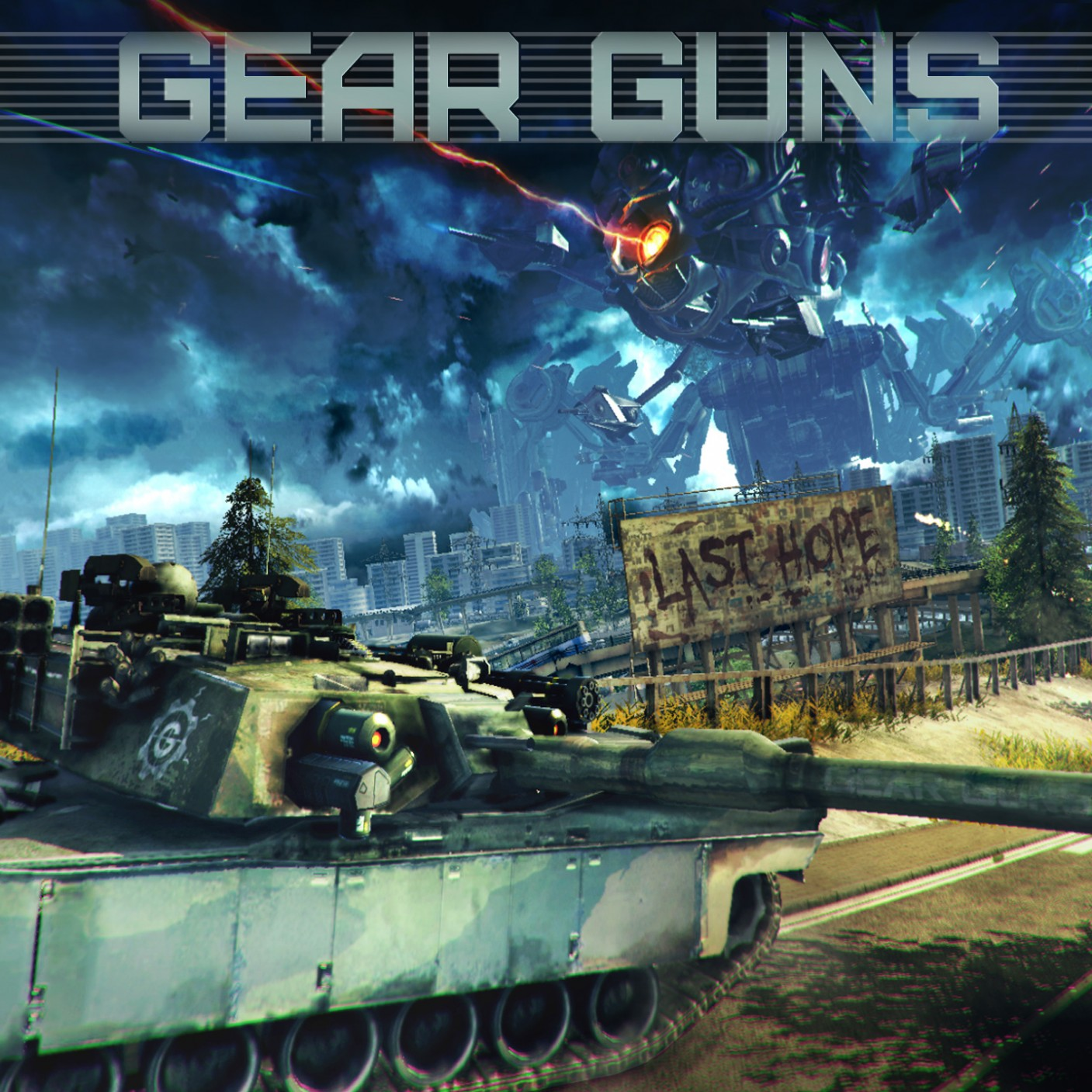 GEARGUNS Tank Offensive Free Download