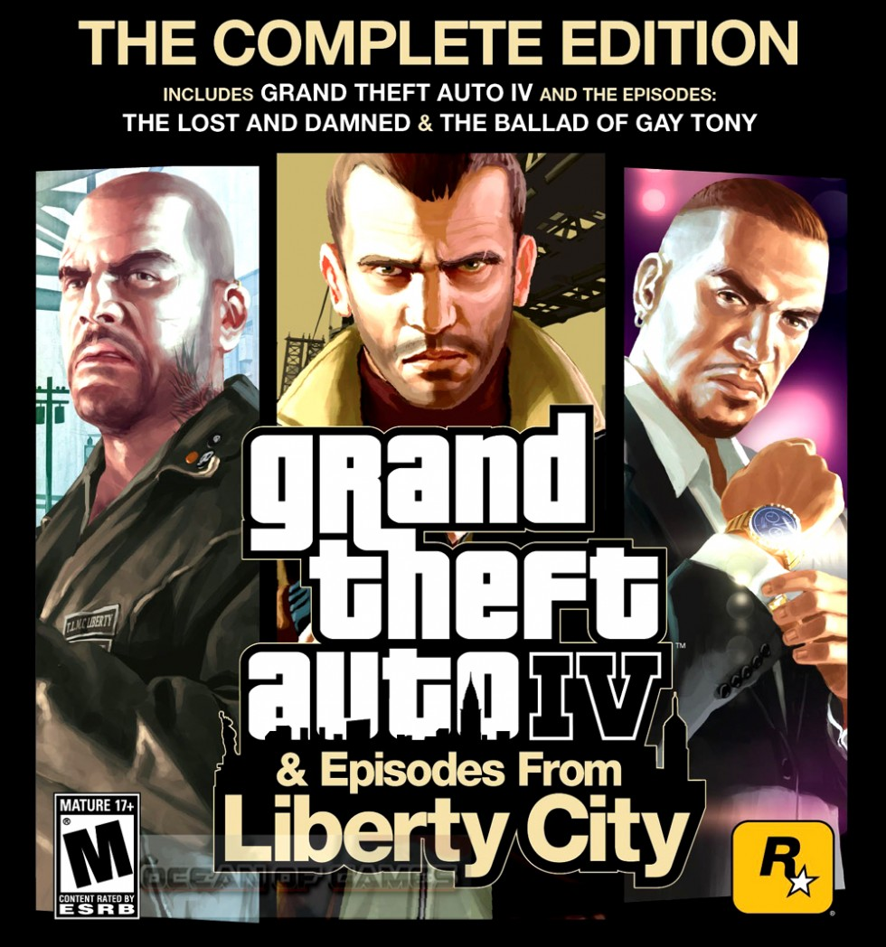 Grand Theft Auto IV Complete Edition Game Setup Free Download