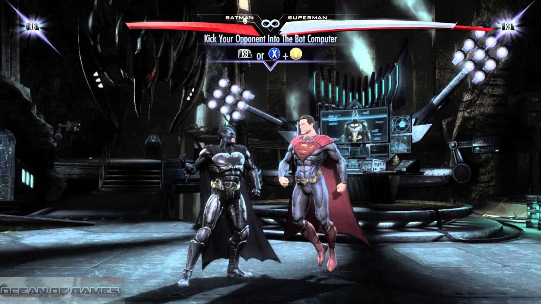 Injustice Gods Among Us Features