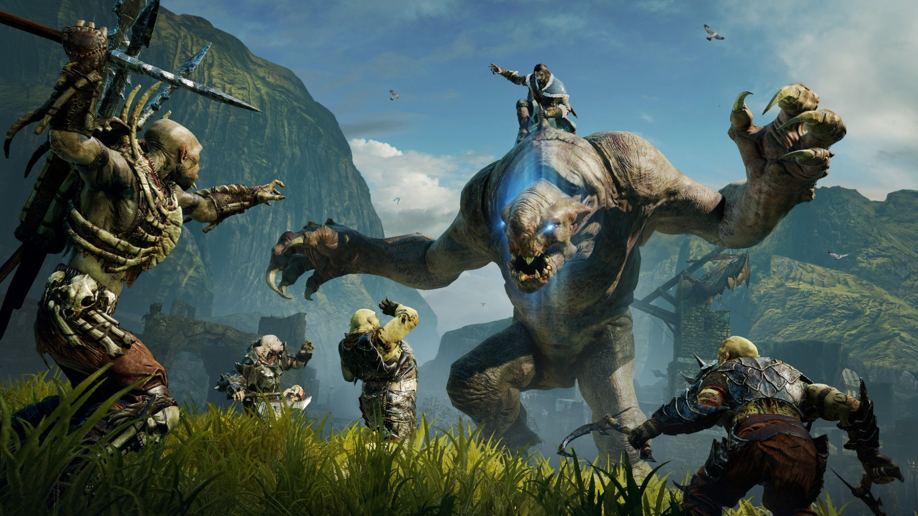 Middle Earth Shadow Of Mordor PC Game 2014