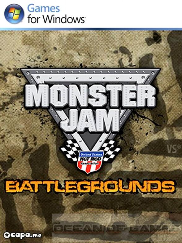 Monster Jam Battlegrounds Free Download