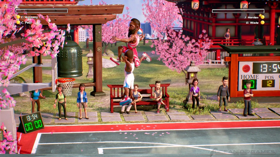 NBA Playgrounds Features