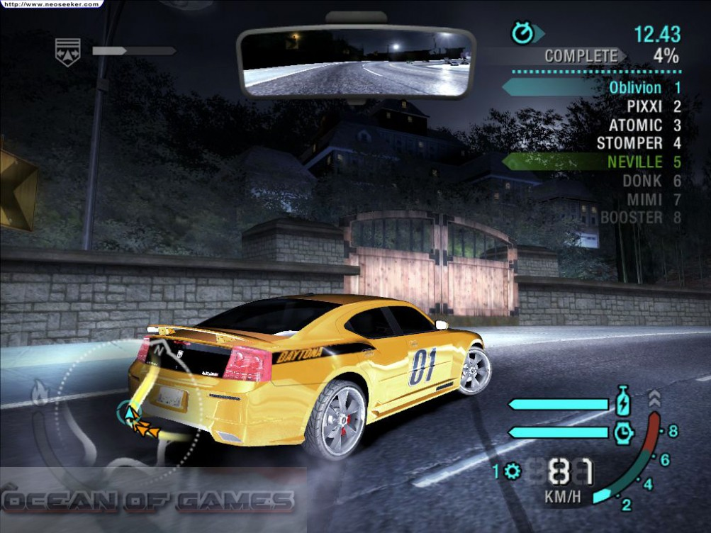 Need For Speed Carbon Features