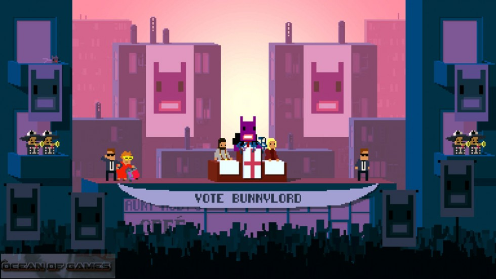 Not a Hero PC Game Features
