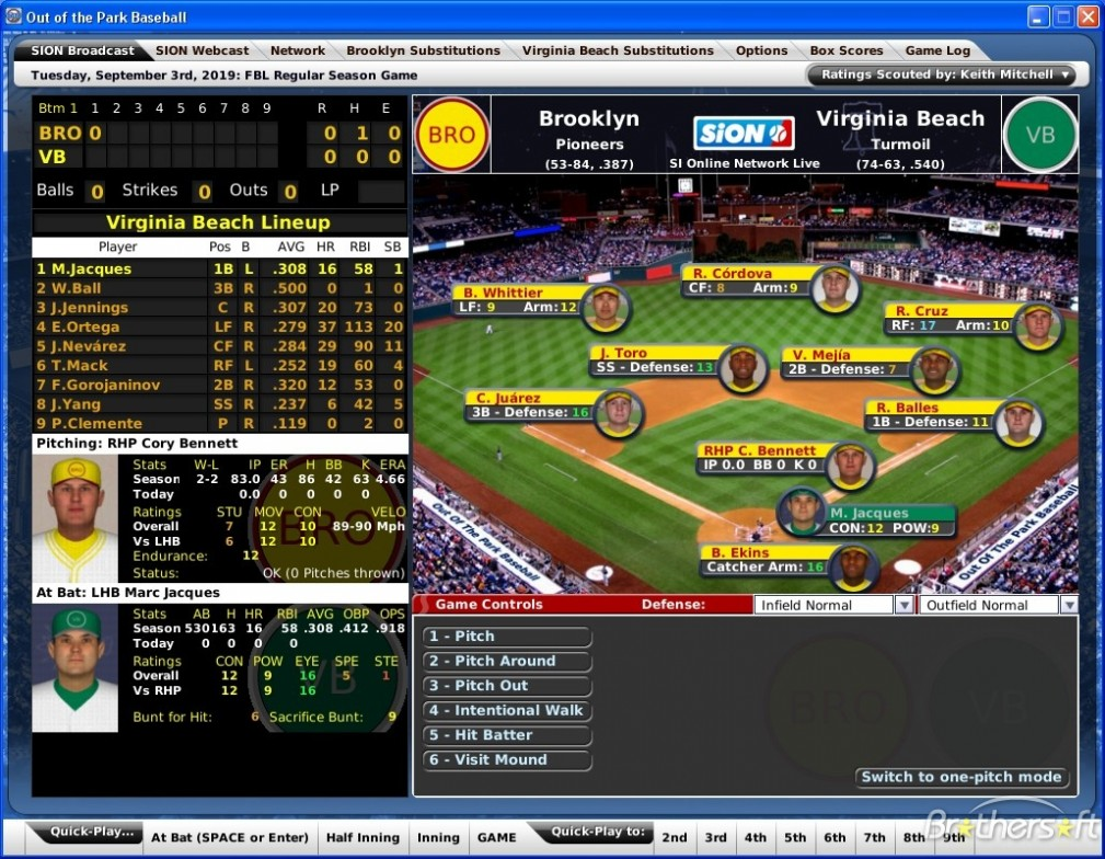 Out of the Park Baseball 18 Features