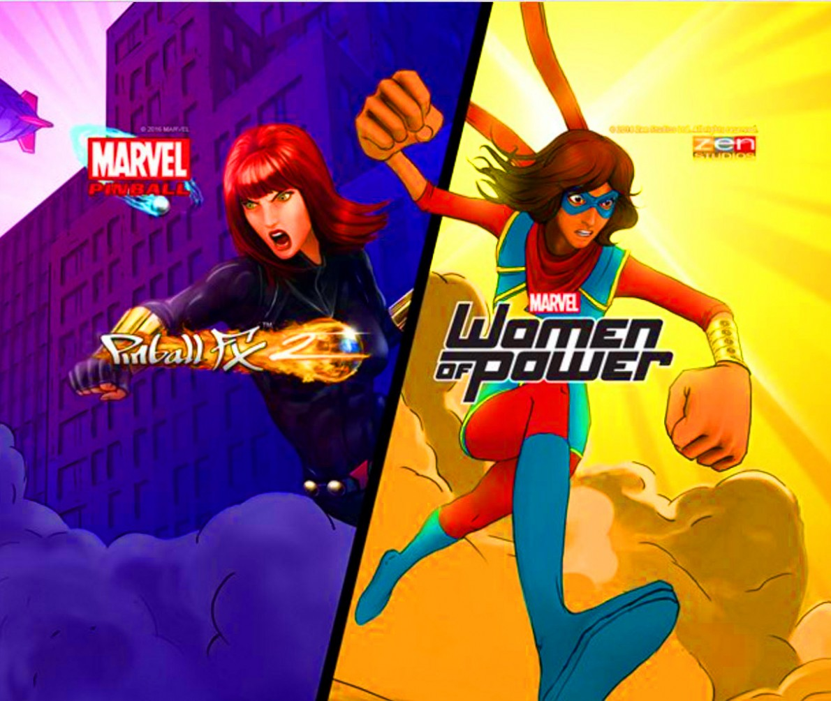 Pinball FX2 Marvels Women of Power Free Download