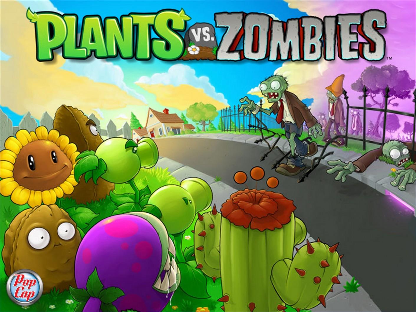скачать зомби против растений