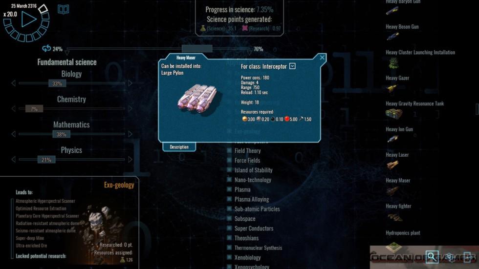 Polaris Sector Features