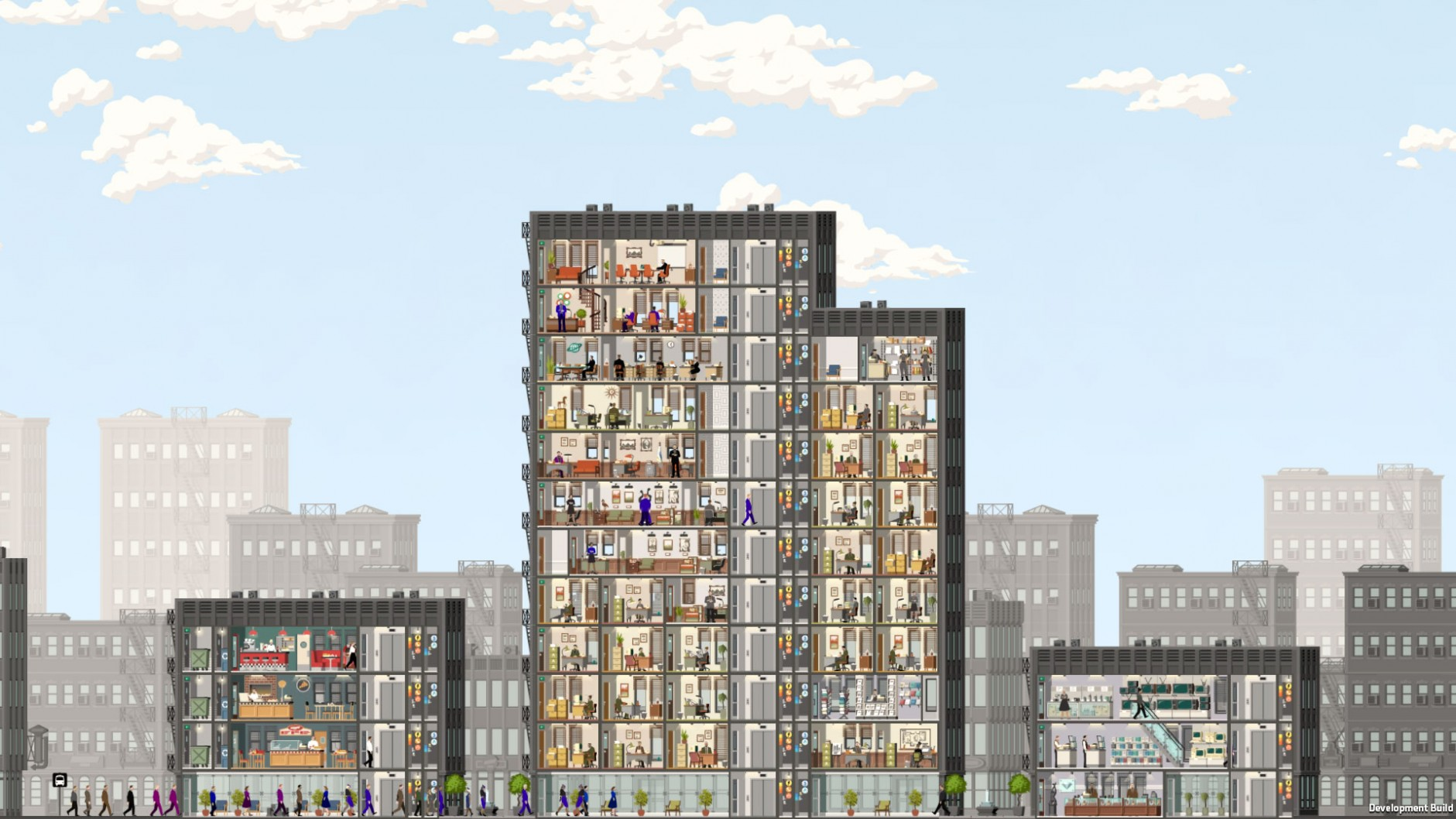 Project Highrise PC Game 2016 Download For Free