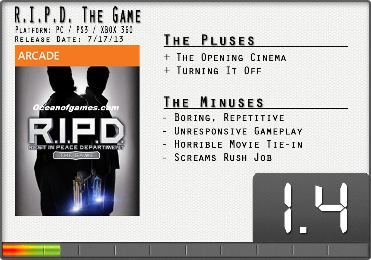 RIPD PC Game Free Download