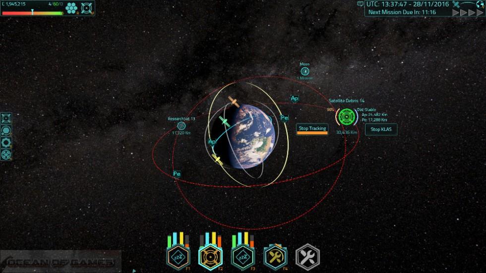 Satellite Command Features