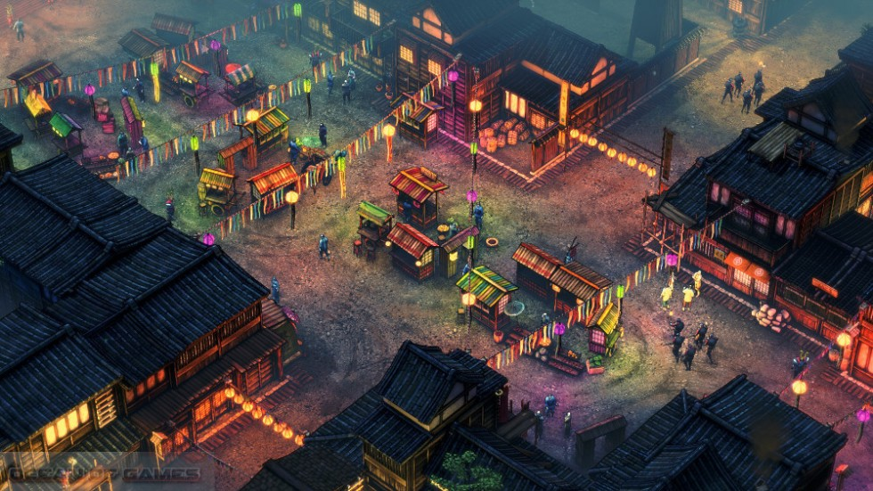 Shadow Tactics Blades of the Shogun Setup Free Download