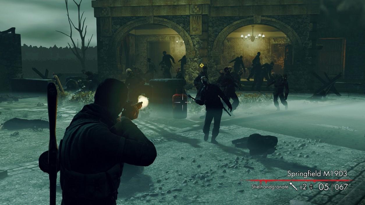 Sniper Elite Nazi Zombie Army  Free