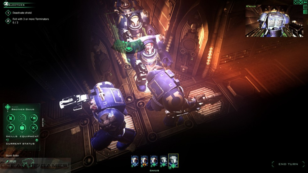 Space Hulk Ascension Dark Angels Features
