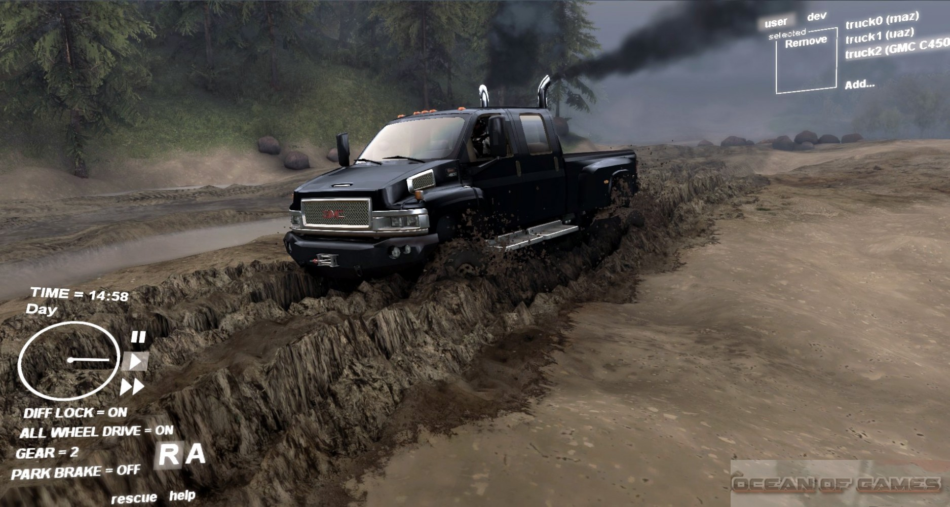 SpinTires Features