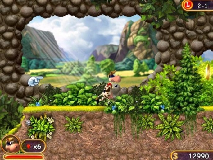 Super Cow Game Features