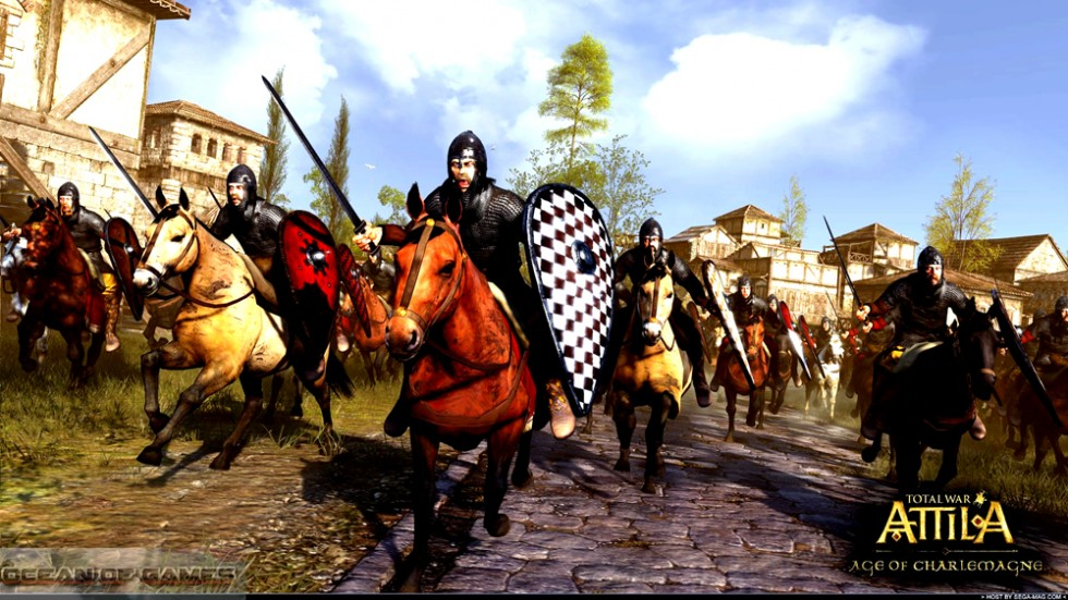 Total War ATTILA Age of Charlemagne Download For Free