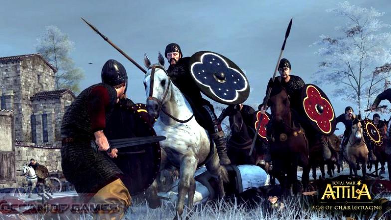 Total War ATTILA Age of Charlemagne Setup Free Download