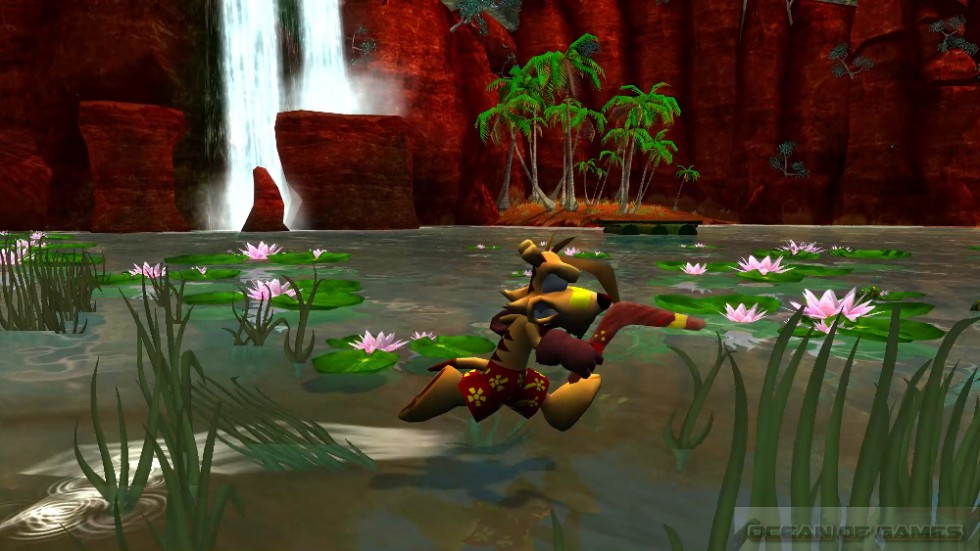 TY the Tasmanian Tiger Features