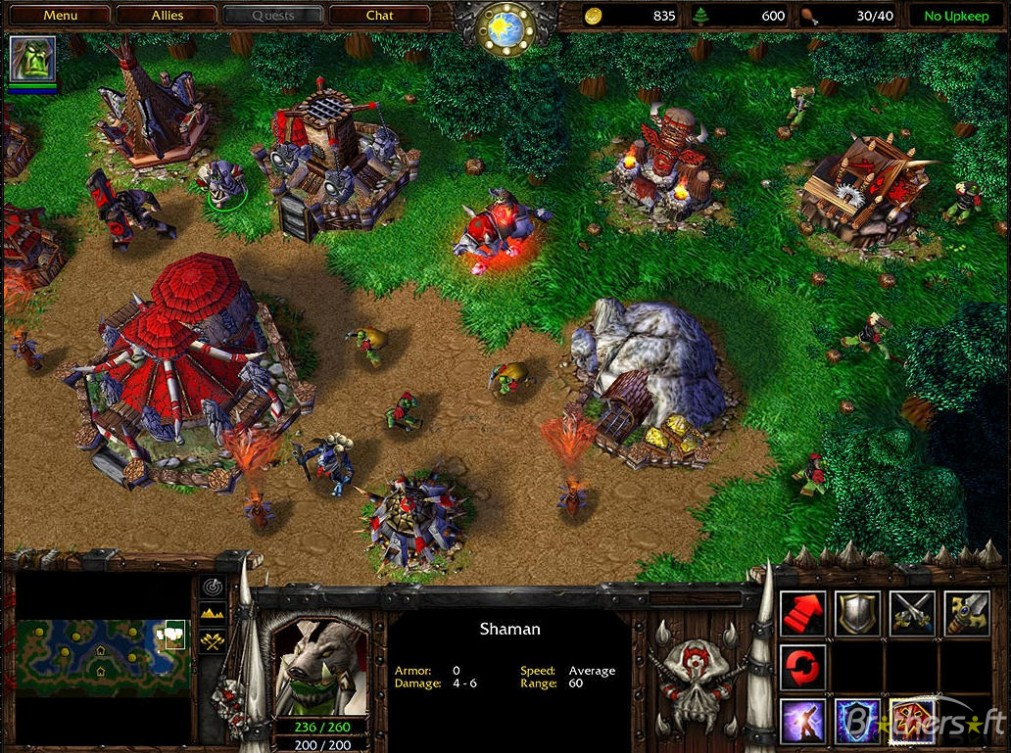 Warcraft III Reign of Chaos Download For Free