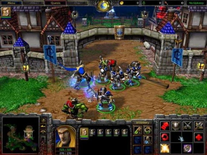 Warcraft III Reign of Chaos Features