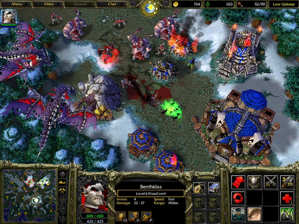 Warcraft III Reign of Chaos Setup Free Download