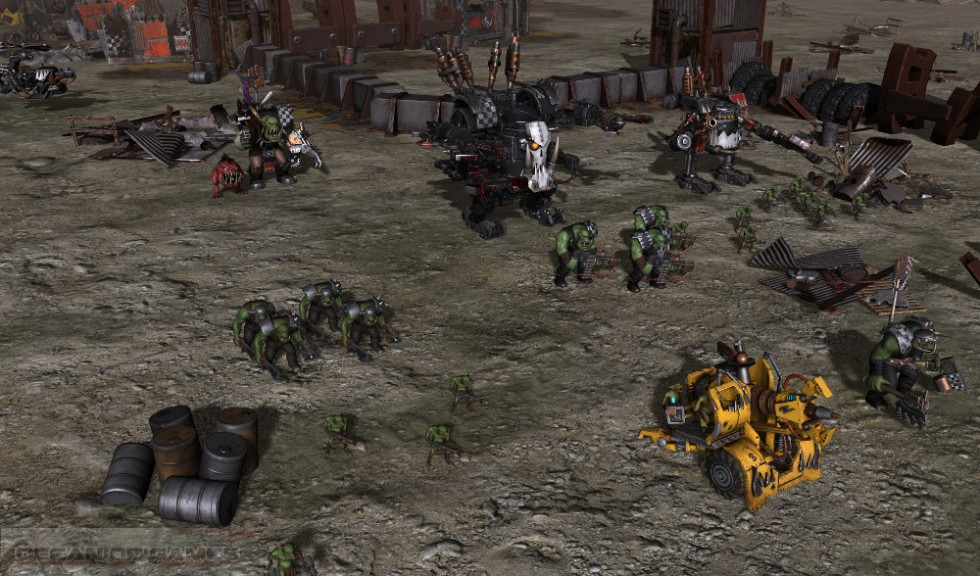 Warhammer 40.000 Sanctus Reach Features