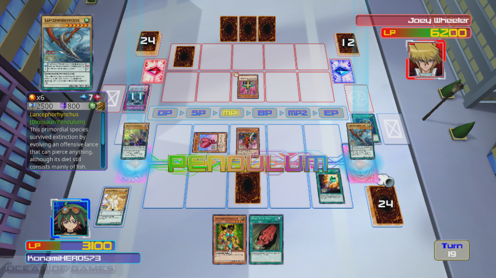 Yu-Gi-Oh Legacy of the Duelist Features